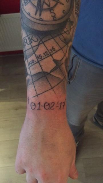 Bekend Vader Zoon Tattoo GW72 | Belbin.Info @VI45