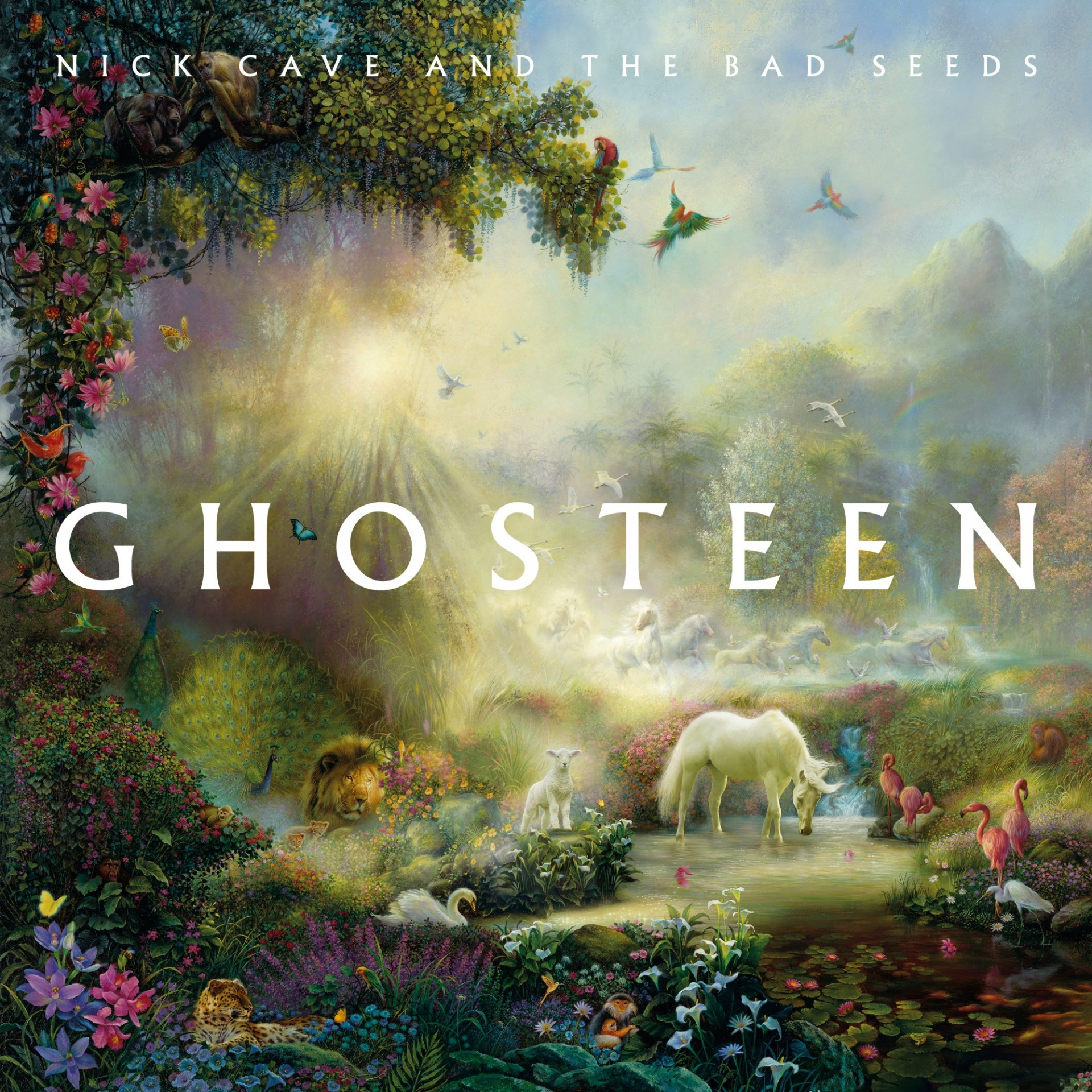 Nick Cave And The Bad Seeds New Album Ghosteen Out Now