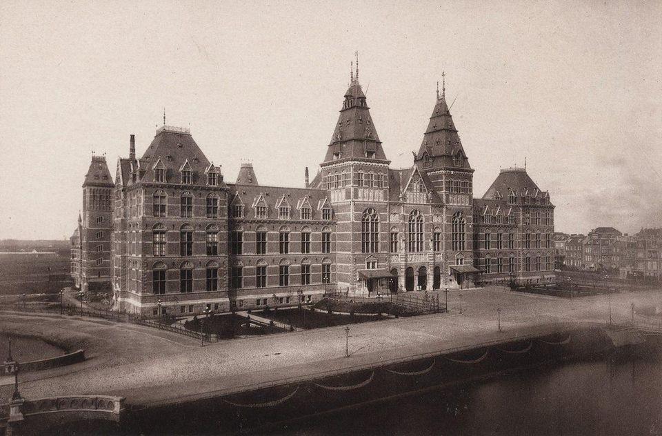 The Rijksmuseum in 1878 (Het Nieuwe Instituut)