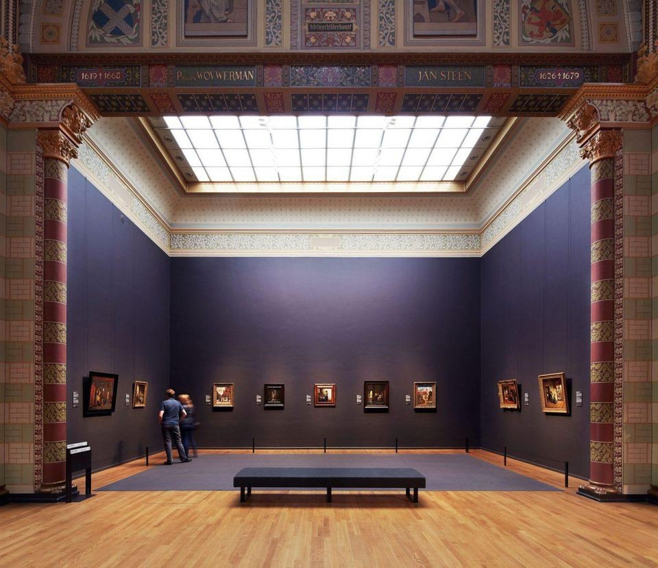 Gallery of Honour at the Rijksmuseum (Erik Smits for the Rijksmuseum)