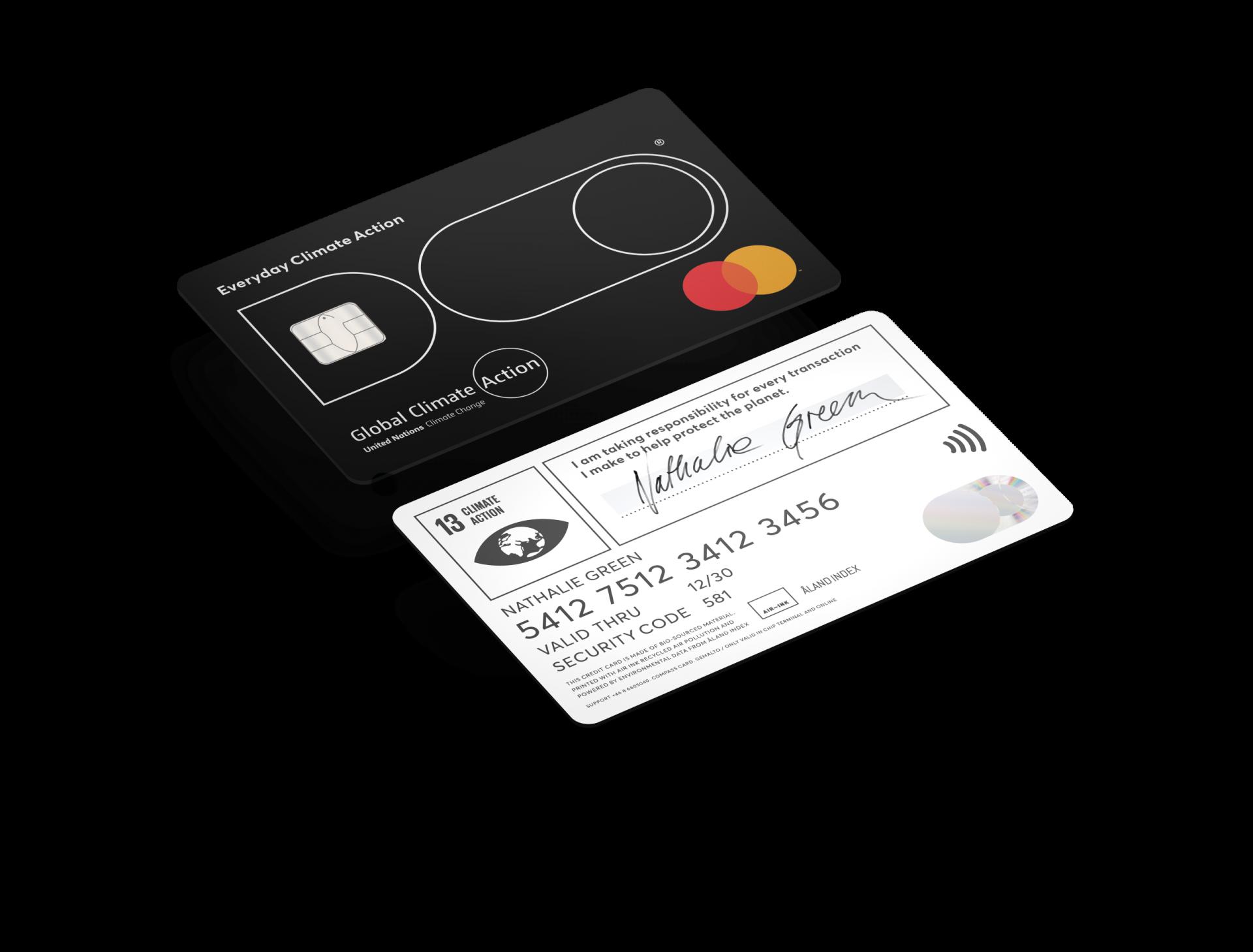 Doconomy's credit card