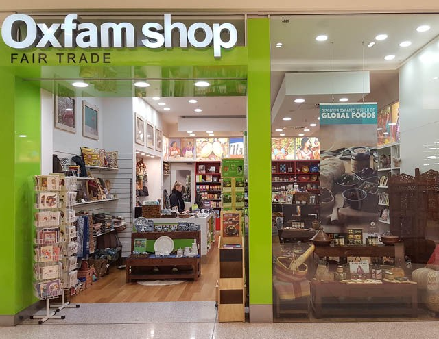 Oxfam was one of the first organizations to open fair trade shops