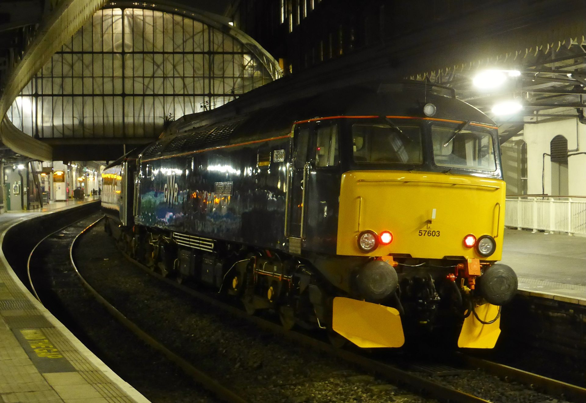 Night Riviera sleeper at London Paddington - Credit: Train Photos