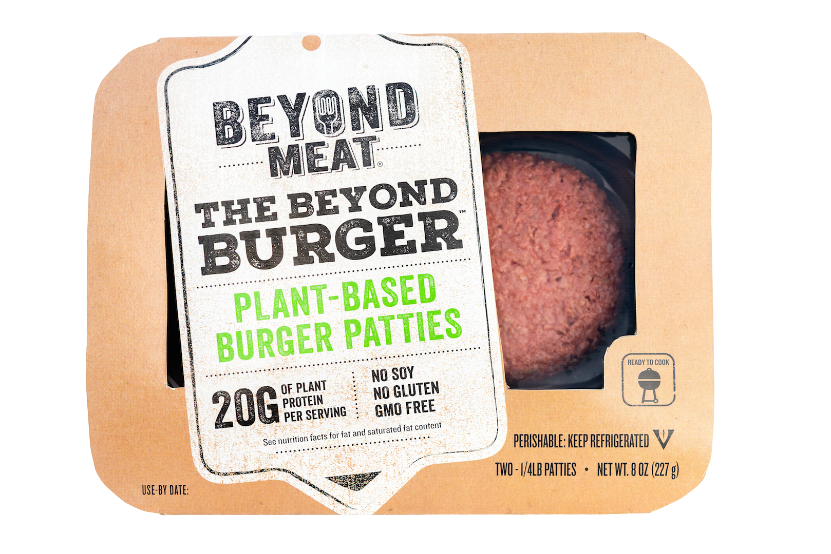 The famous Beyond Burger via Wikimedia Commons