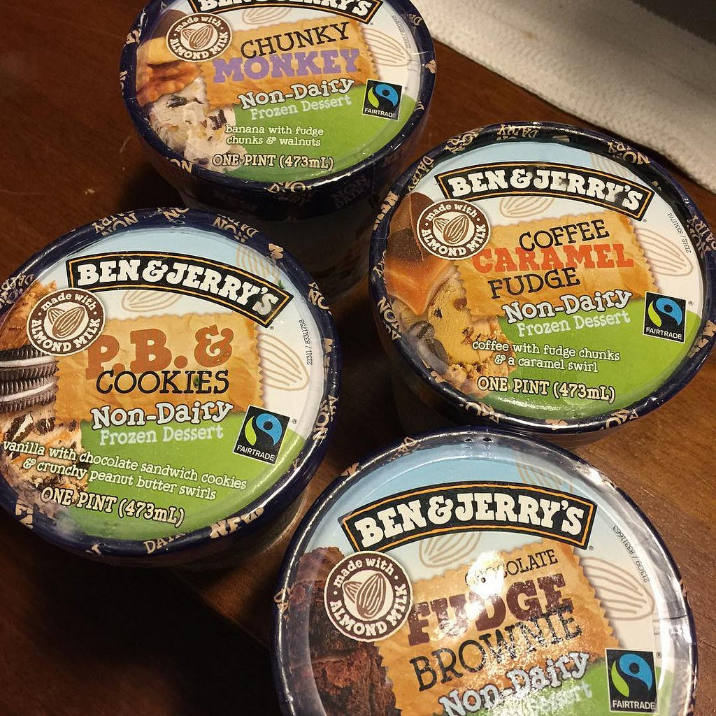 Vegan Ben and Jerry's flavours / Troy Tolley vis Flickr