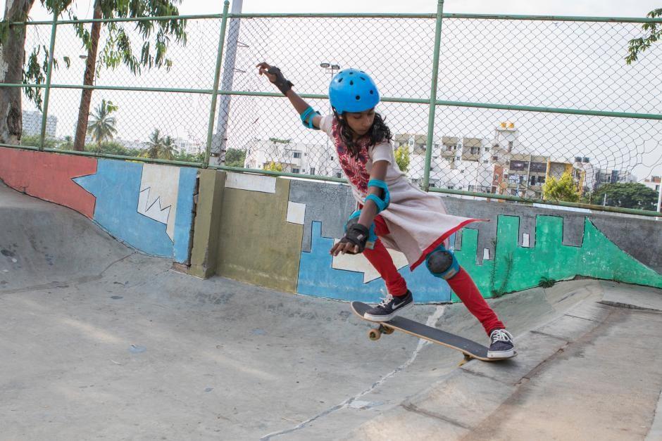 Photo courtesy of Girls Skate India