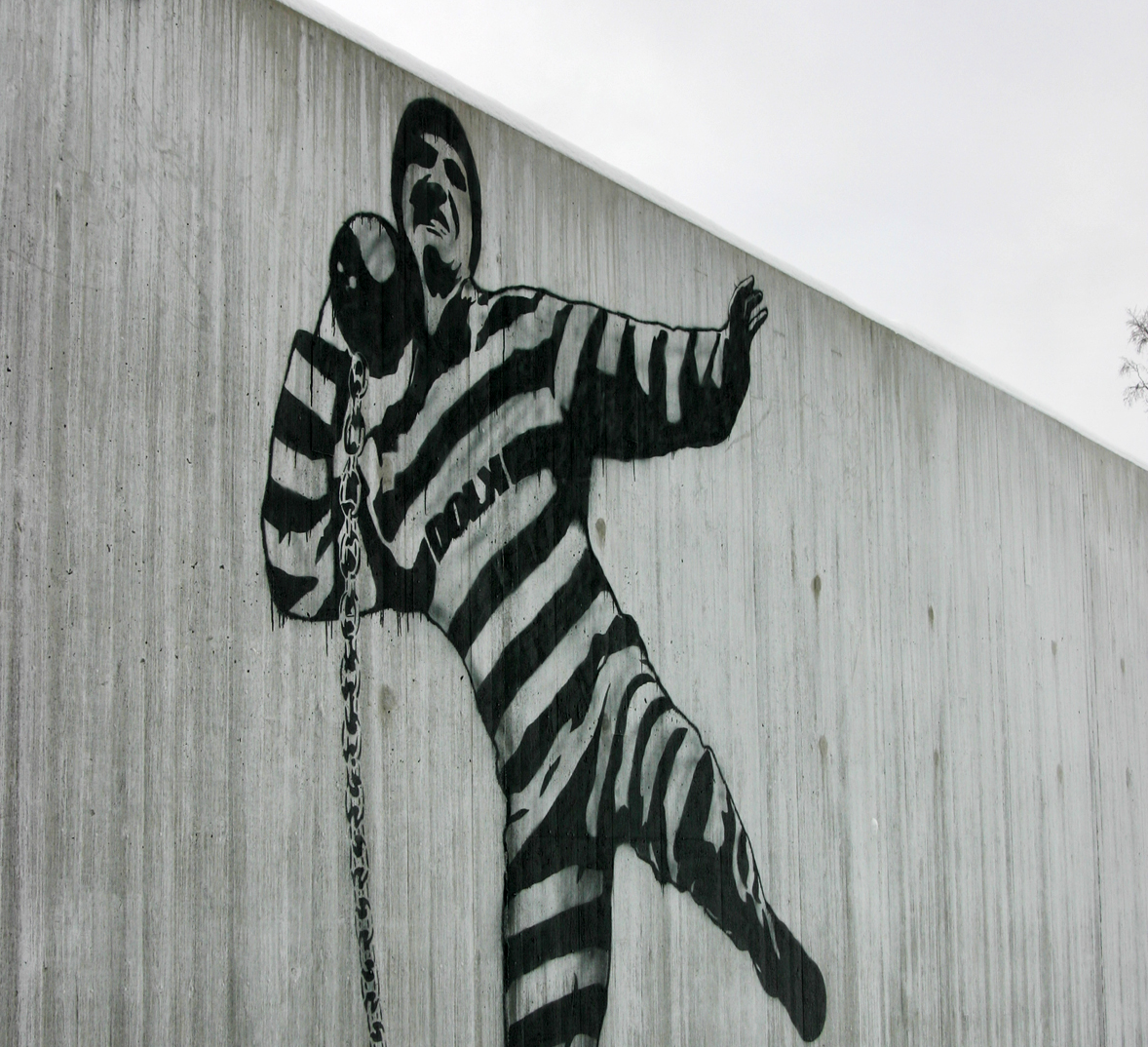 Graffiti by Dolk in Halden Prison -Wikimedia Commons
