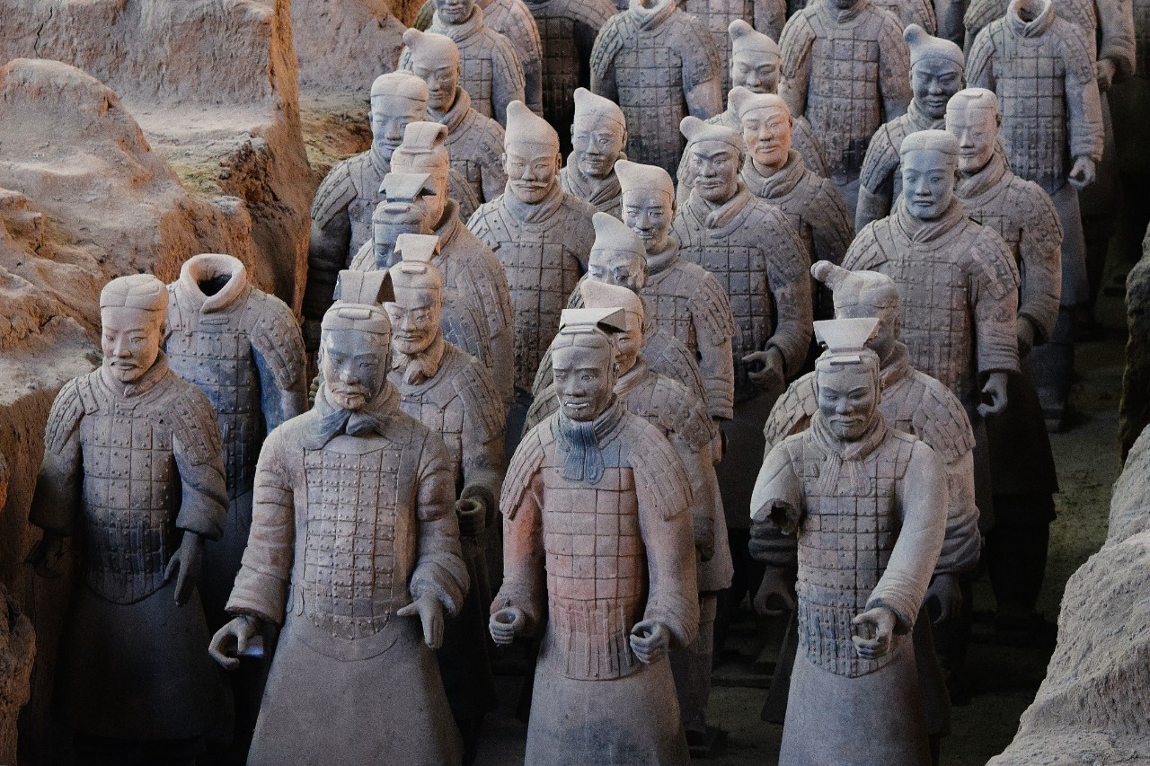 Photo by Aaron Greenwood, Global attractions like the terracotta army were left unseen